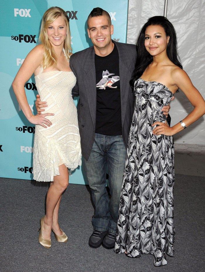 Heather Morris, Mark Salling, Naya Rivera Glee