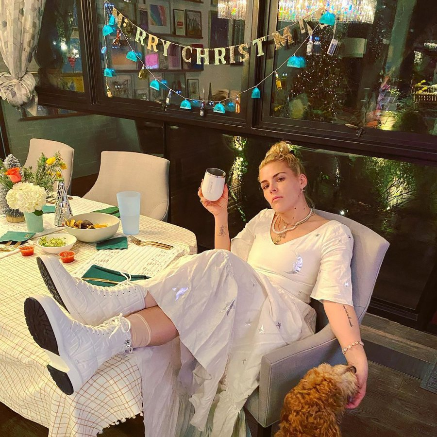 Busy Philipps How Stars Celebrated Christmas 2020