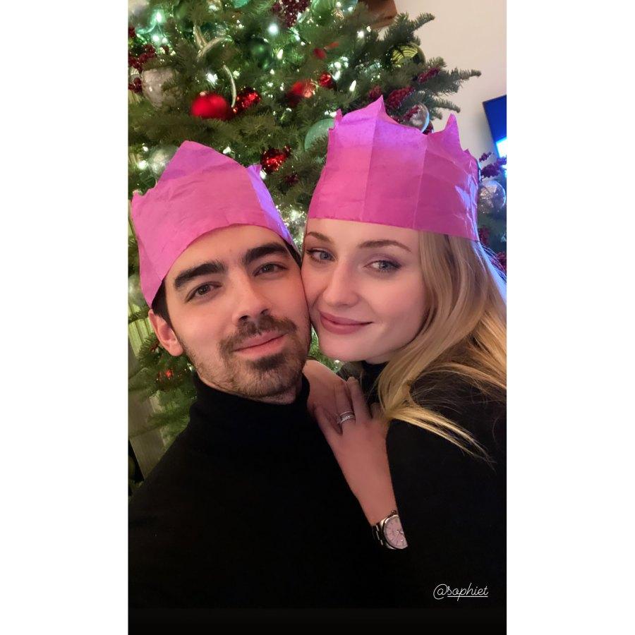 Joe Jonas and Sophie Turner How Stars Celebrated Christmas 2020