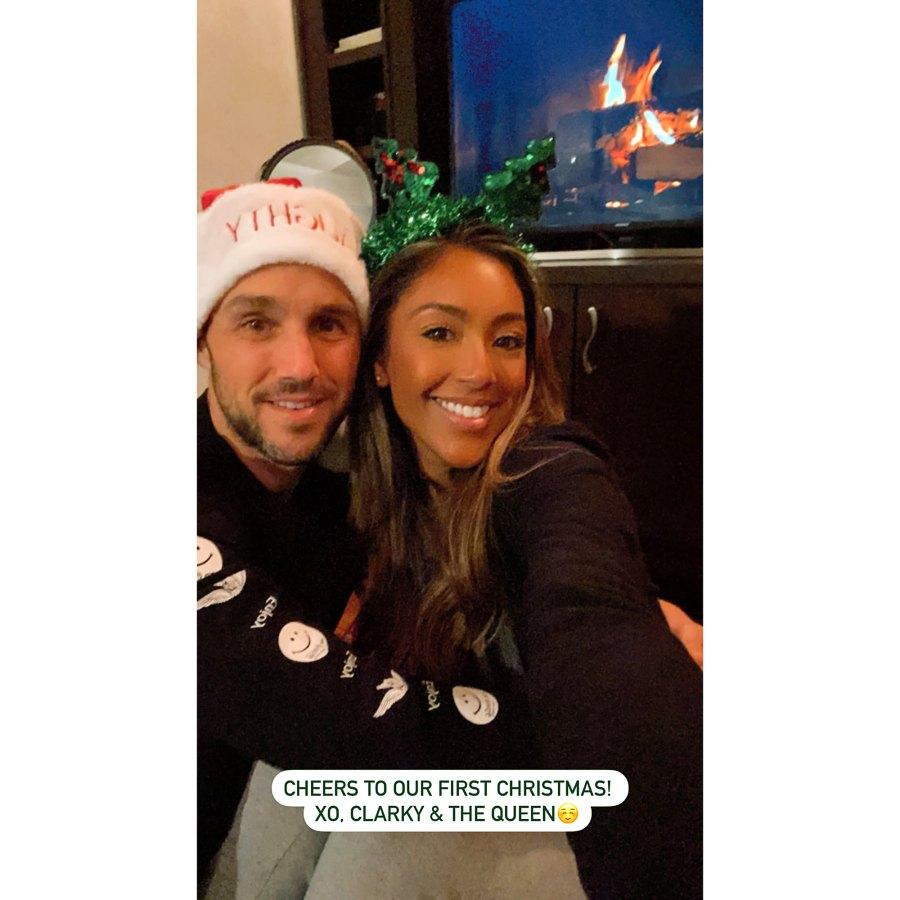 Tayshia Adams How Stars Celebrated Christmas 2020