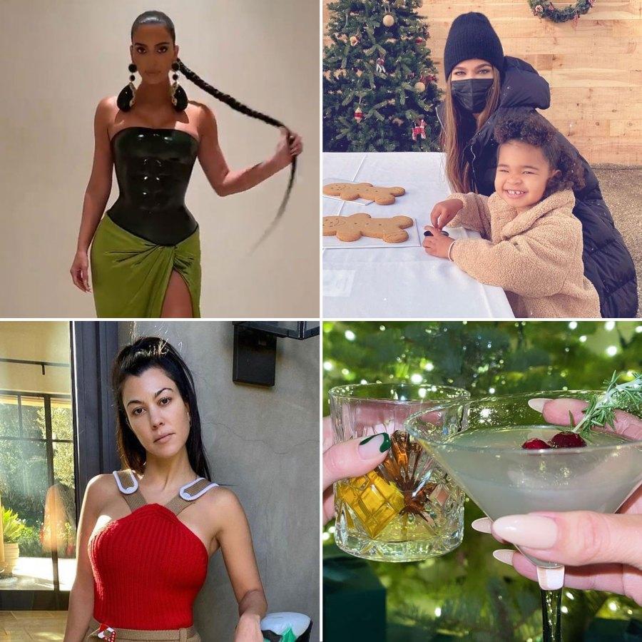 Inside the Kardashian Family Christmas Eve Party