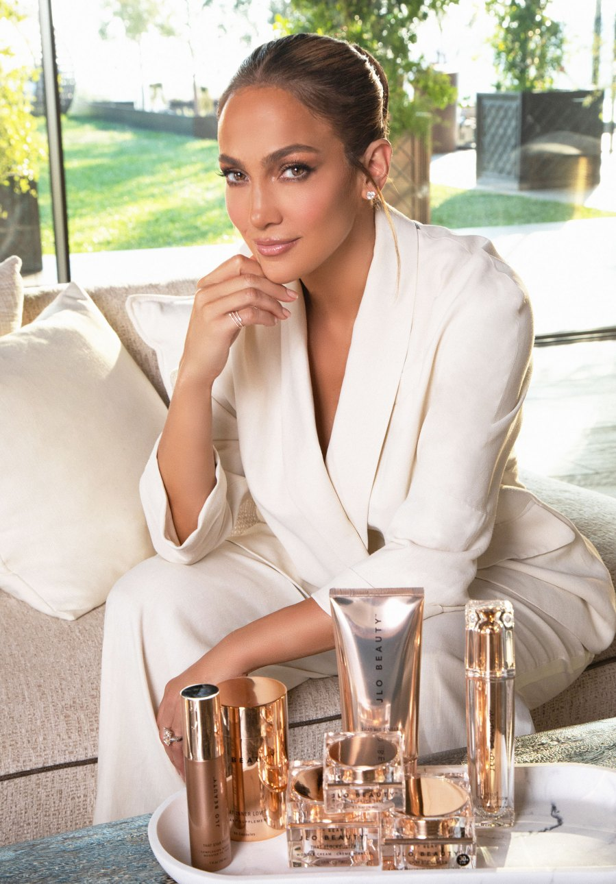 First Look at Jennifer Lopez Beauty