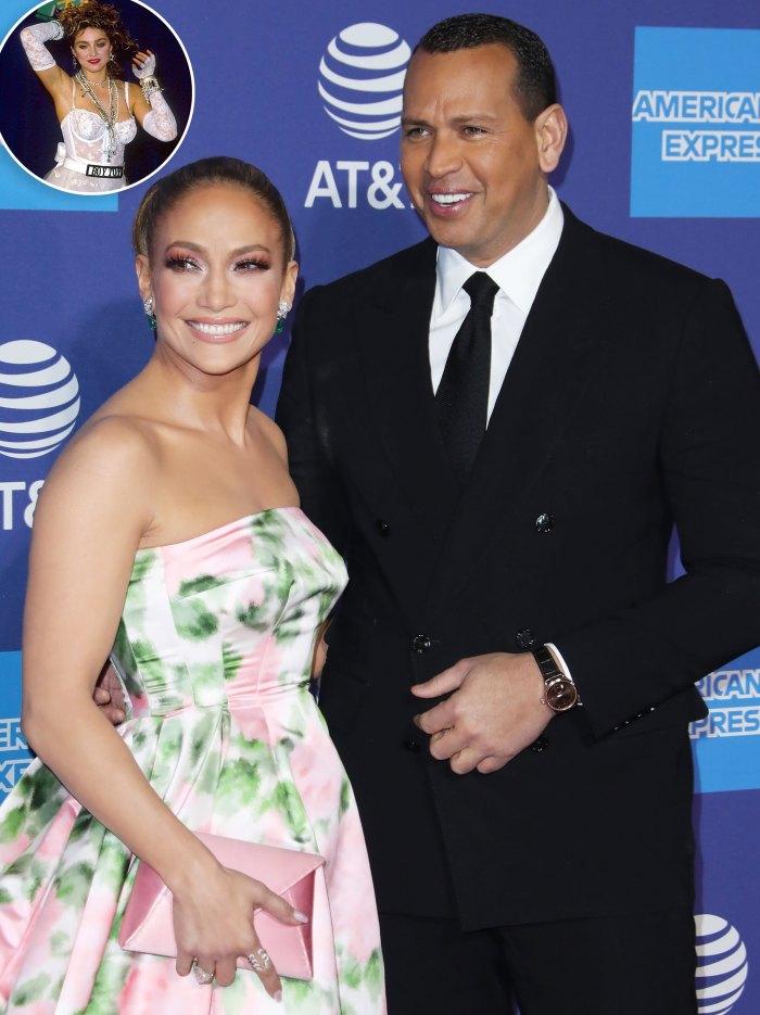 Jennifer Lopez 'Loved' Dressing Up as Alex Rodriguez's Ex Madonna