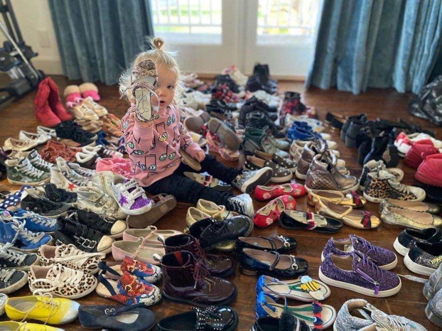 Jessica Simpson's Daughter Birdie Loves Shoes p