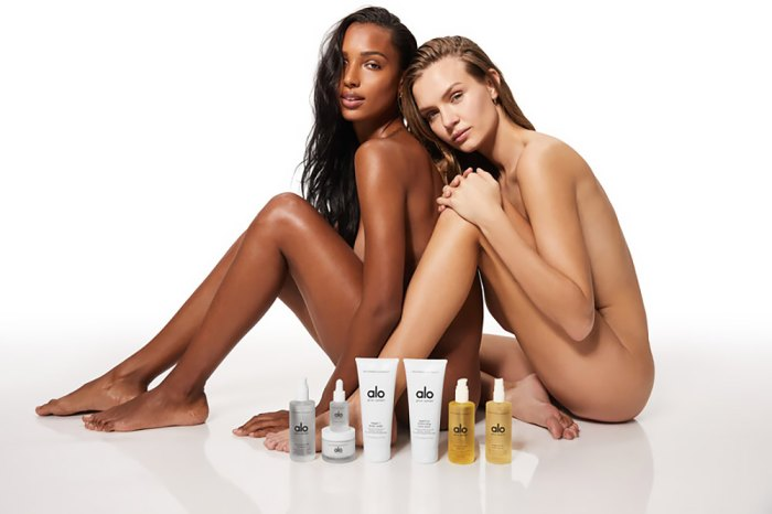 Josephine Skriver and Jasmine Tookes Star in Alo Yoga's 1st Skincare Campaign