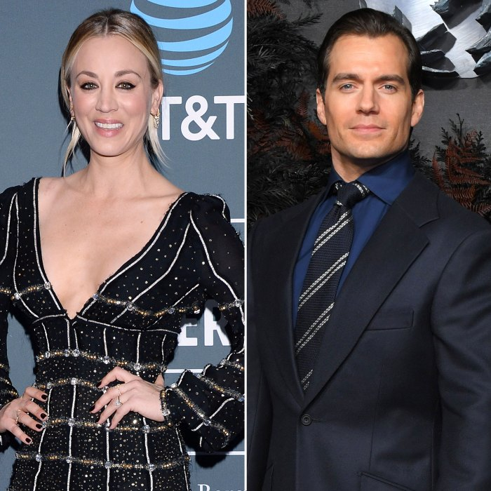 Kaley Cuoco Hilariously Dodges Question About Ex Henry Cavill