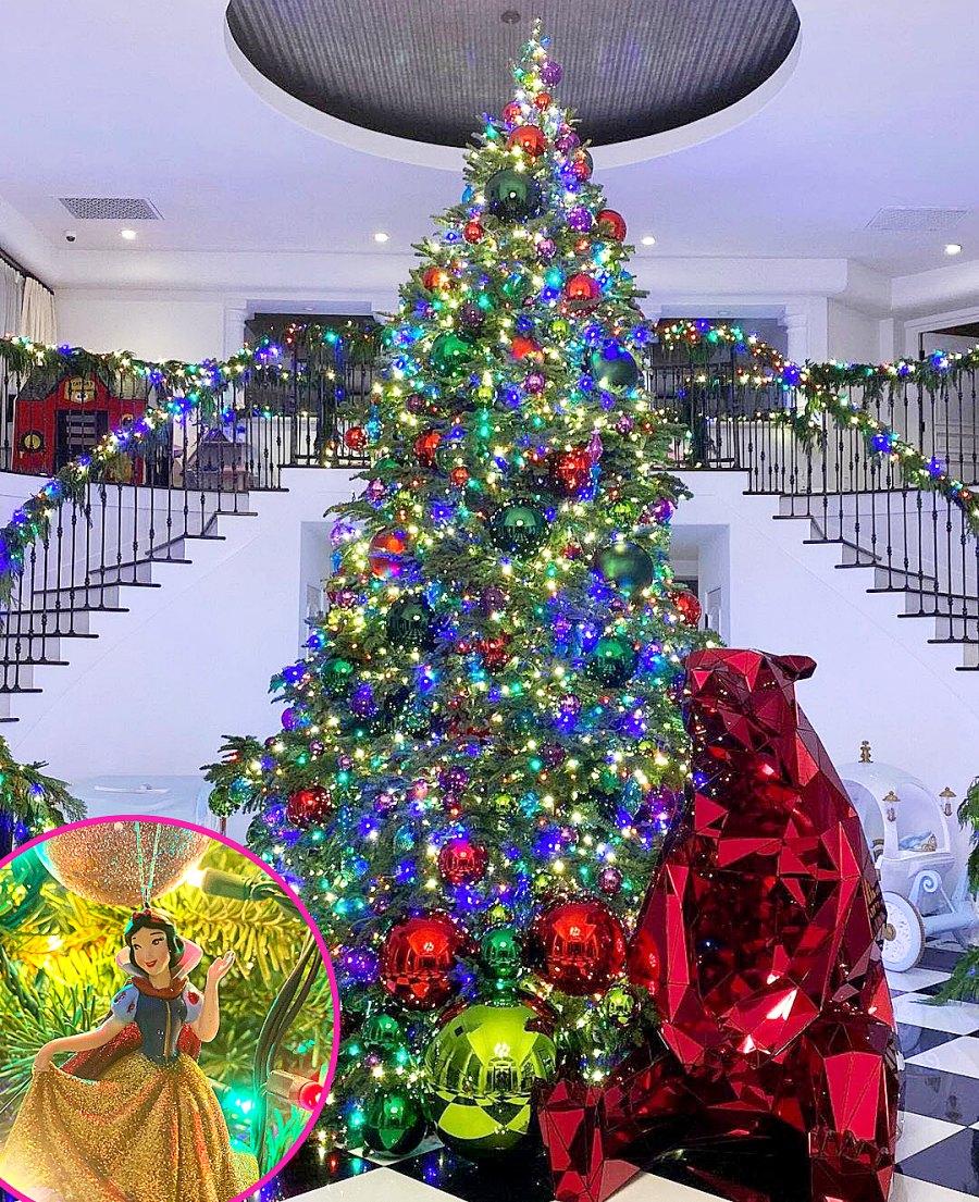 Kardashian-Jenner Holiday Decor 2020 Rob Kardashian
