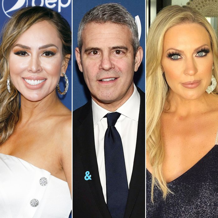 Kelly Dodd Gets Grilled by Andy Cohen Over Coronavirus Comments and Accuses Braunwyn Windham-Burke of Faking Alcoholism