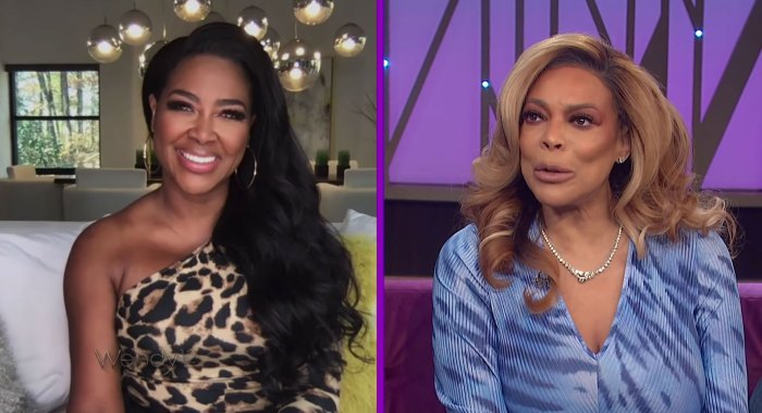Kenya Moore Kanye West Explicit TV Disaster Date Wendy Williams Show