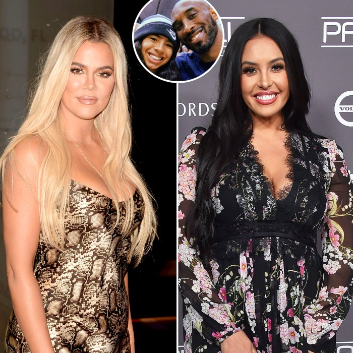 Khloe Kardashian Sent Vanessa Bryant a Sweet Tribute to Kobe Gianna 1