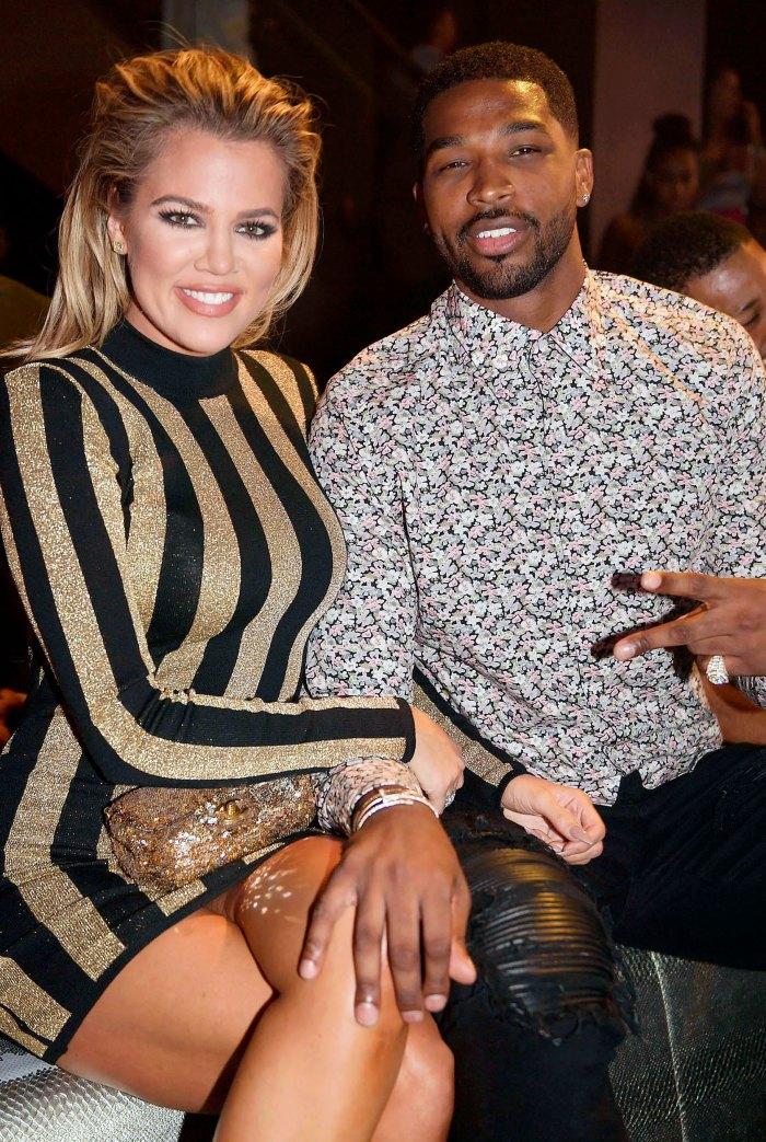 Khloe Kardashian Reunites With Tristan Thompson in Boston