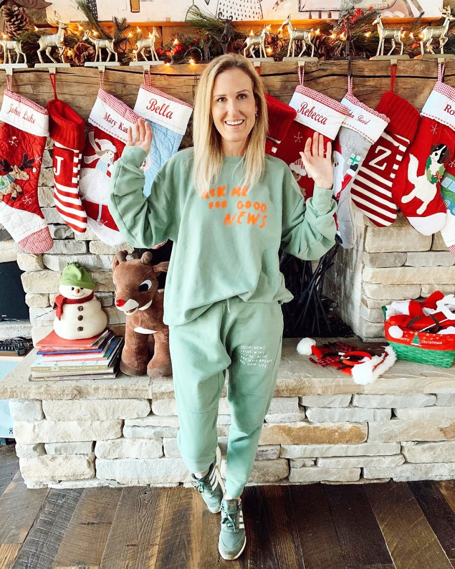 Korie Robertson Celebrity Holiday Decorations of 2020