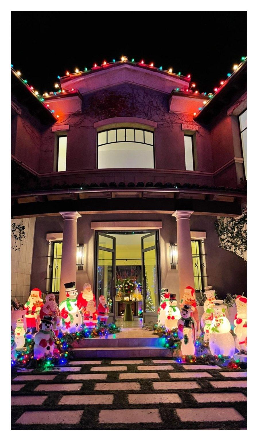 Kourtney Kardashian House Christmas 2020