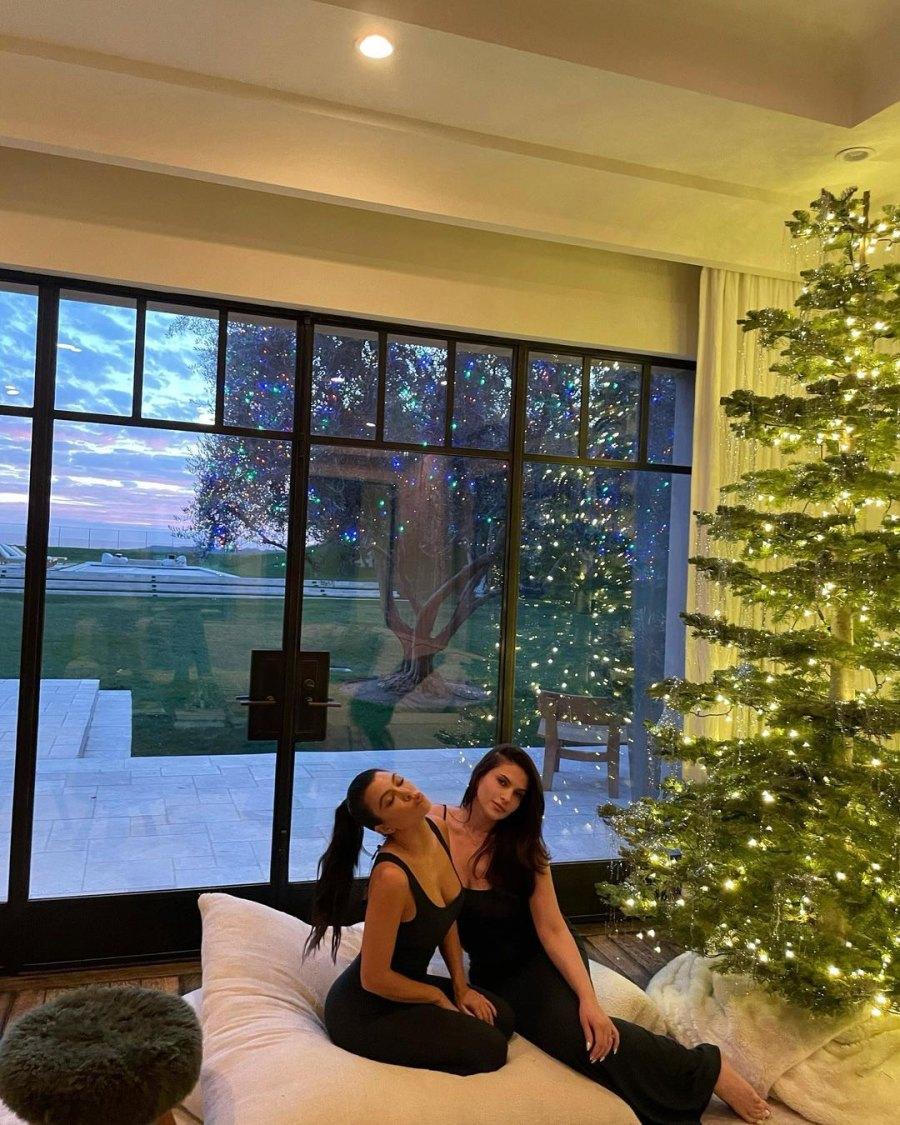 Kourtney Kardashian Christmas decorations