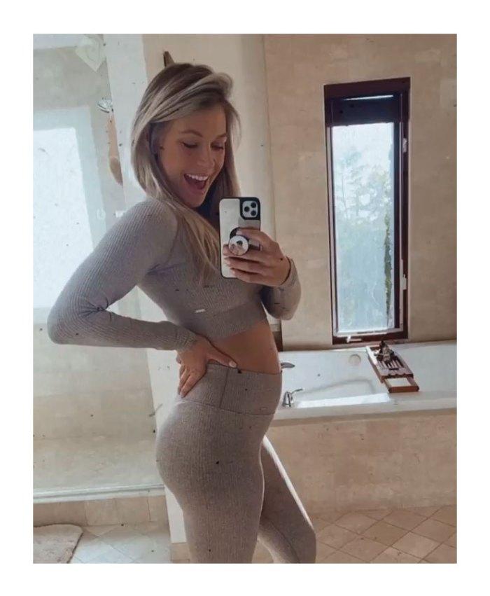 Krystal Nielson se sincera sobre estar embarazada mientras estaba legalmente casada con su ex Chris Randone