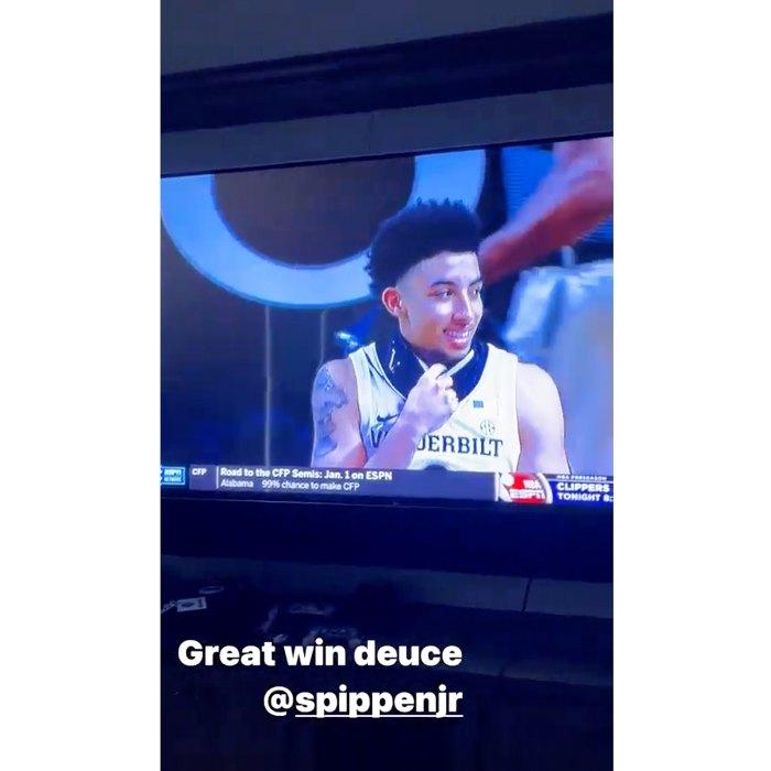Larsa Pippen Supports Son Scotty Jr After His Malik Beasley Shade