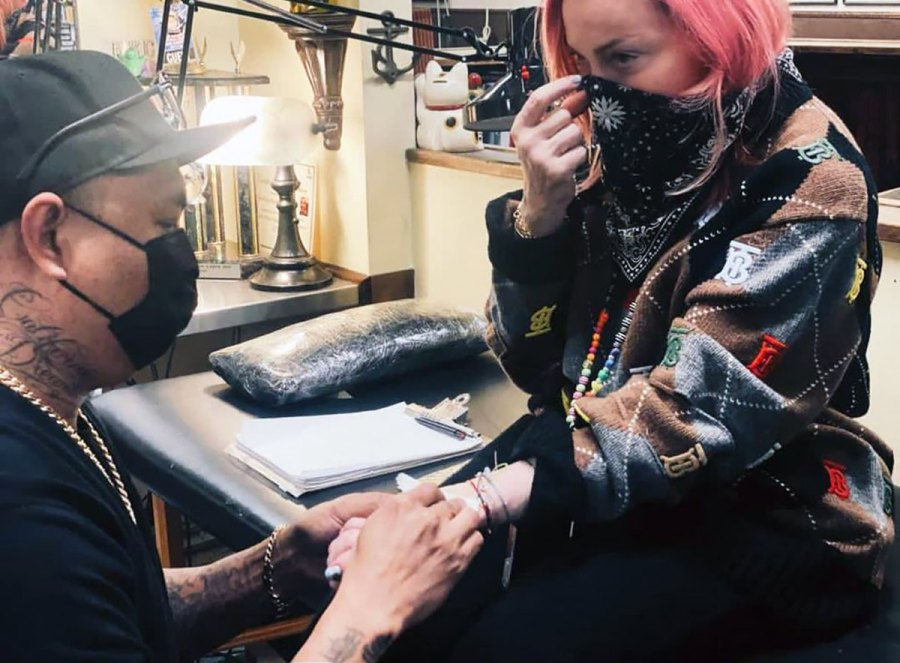 Madonna, 62, Gets Her Very 1st Tattoo and the Beautiful Design Is Touchingly Beautiful