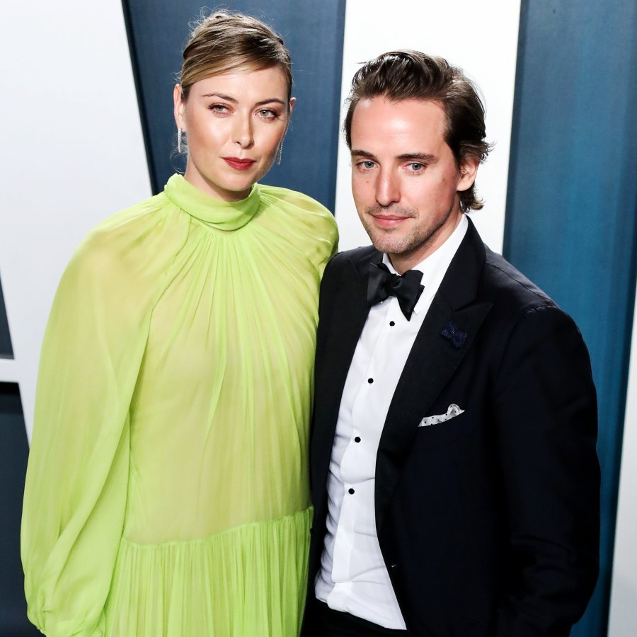 Maria Sharapova Alexander Gilkes Pandemic Engagements Celebrities Who Got Engaged 2020