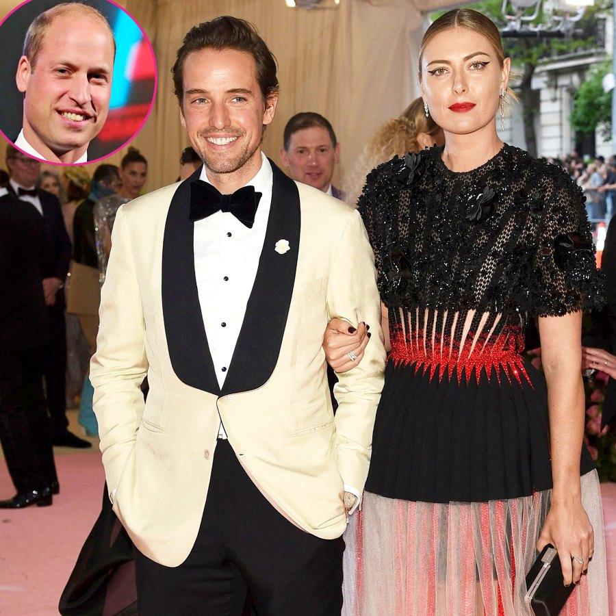 Maria Sharapova Is Engaged Prince William Friend Alexander Gilkes