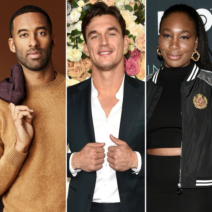 Matt James and Tyler Cameron Dish on Dating While Working Out With Venus Williams