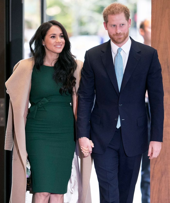 Meghan Markle Bundles Up for Beverly Hills Outing With Prince Harry