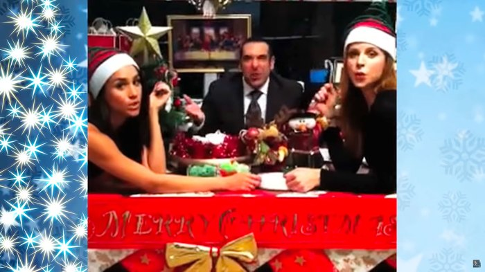 Meghan Markle Surprise Cameo in 2012 Christmas Music Video