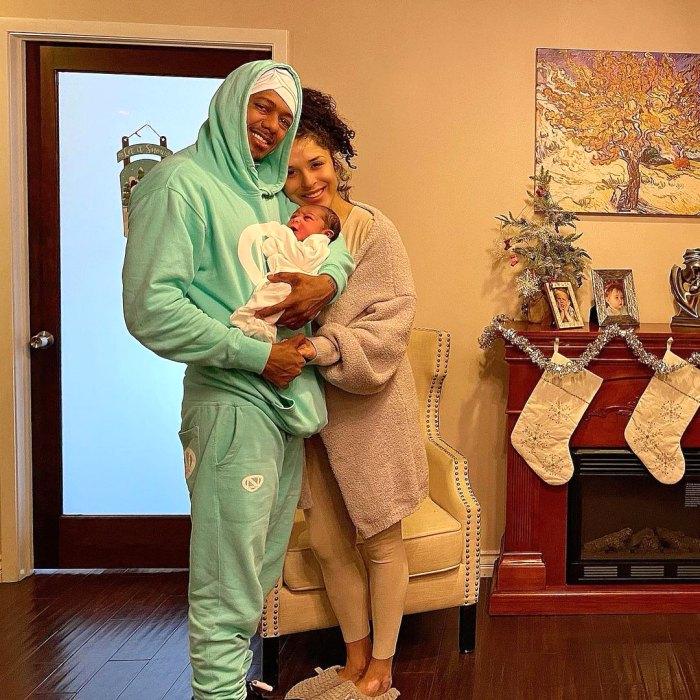 Nick Cannon da la bienvenida a la niña con Brittany Bell el día de Navidad