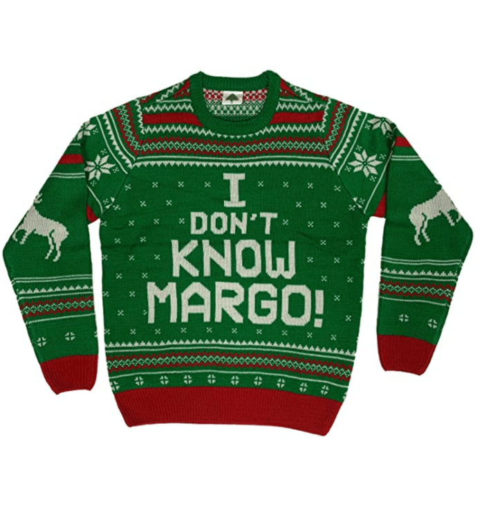 Oh My Sweater I Don't Know Margo Ugly Christmas Sweater
