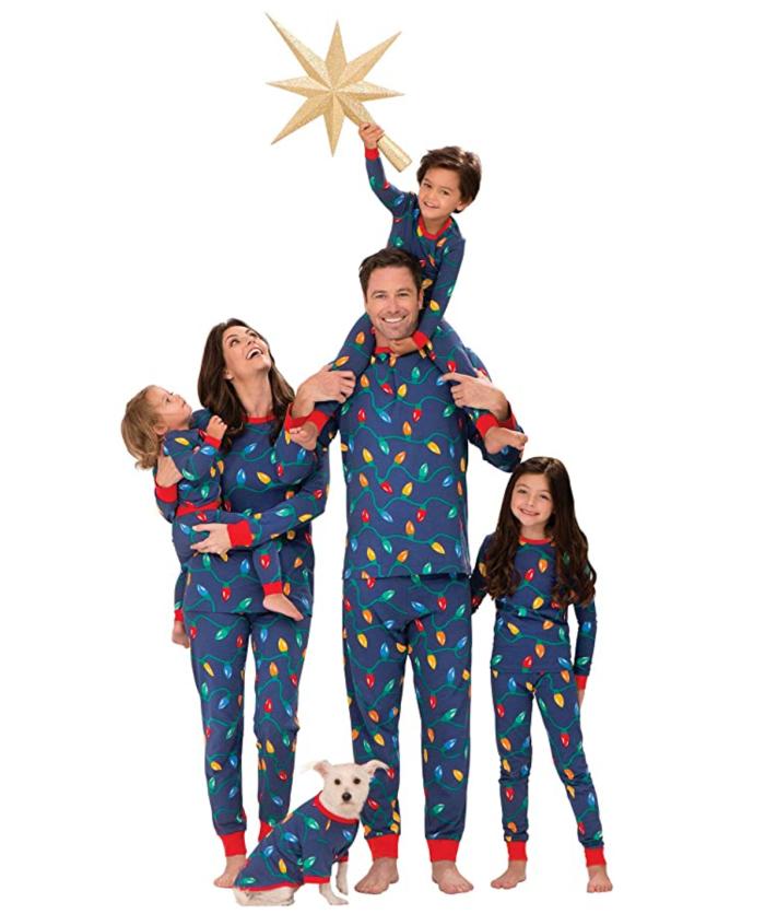 Pijama de Navidad familiar a juego de PajamaGram