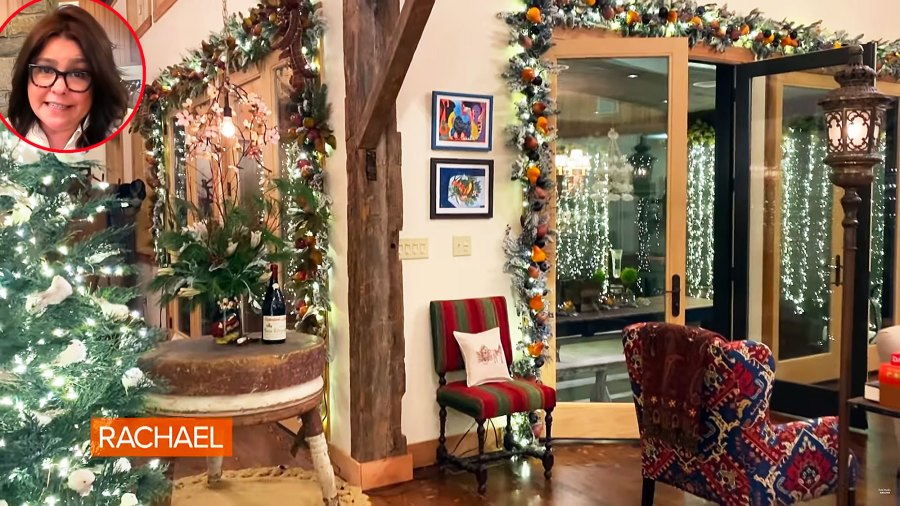 Rachael Ray Is Overcome With Emotion as She Debuts Christmas Decorations After Devastating House Fire