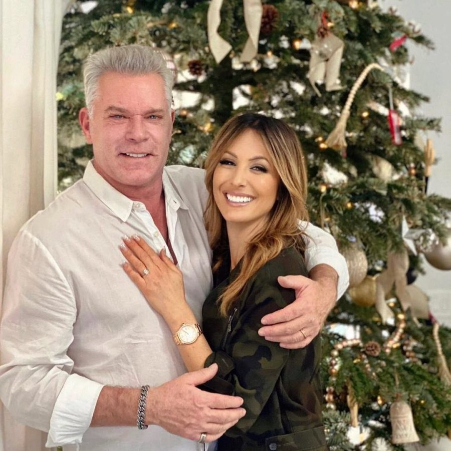 Ray Liotta Jacy Nittolo Stars Who Got Engaged During Pandemic 2020 Engagements