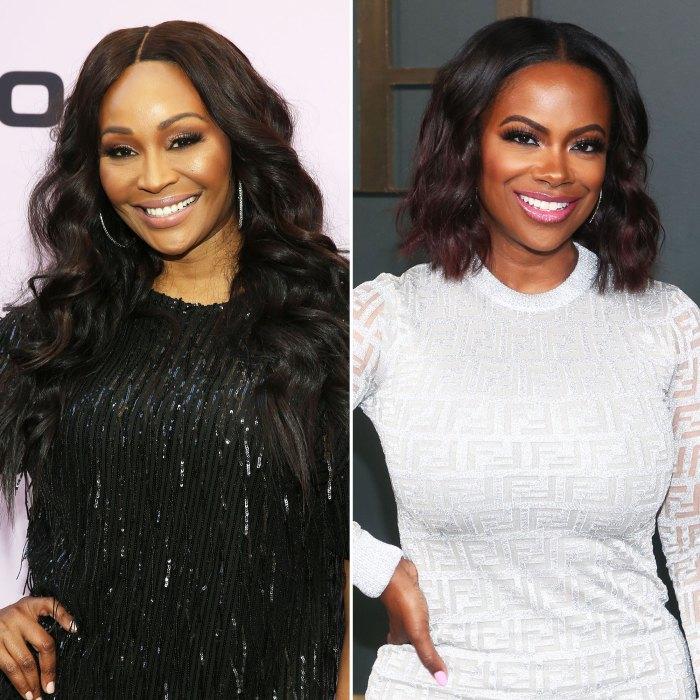 Real Housewives Of Atlanta Cynthia Bailey y Kandi Burruss se burlan de la despedida de soltera y el drama de stripper