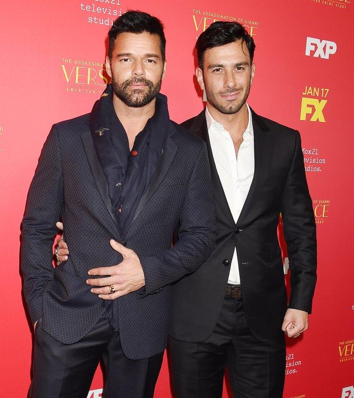 Ricky Martin comparte una rara foto de su Jwan Yosef Son Renn