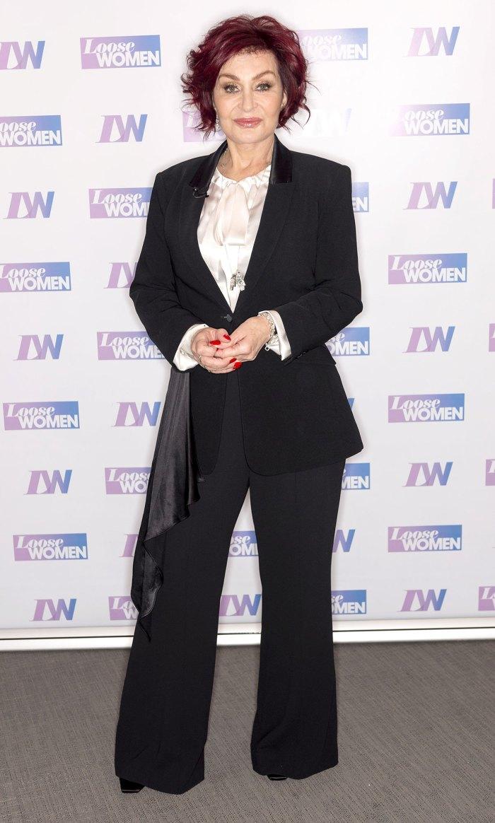 Sharon Osbourne Hospitalized After Testing Positive for Coronavirus