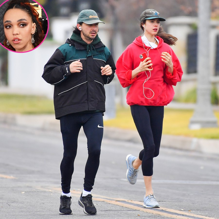 FKA Twigs Shia LaBeouf Margaret Qualley Go Jog Amid Scandal