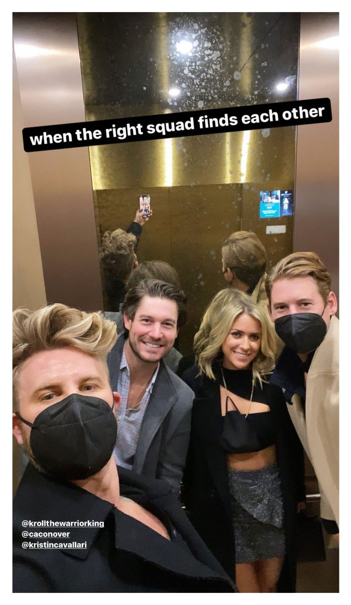 Southern Charm Austen Kroll Parties With Kristin Cavallari After Madison LeCroy Split