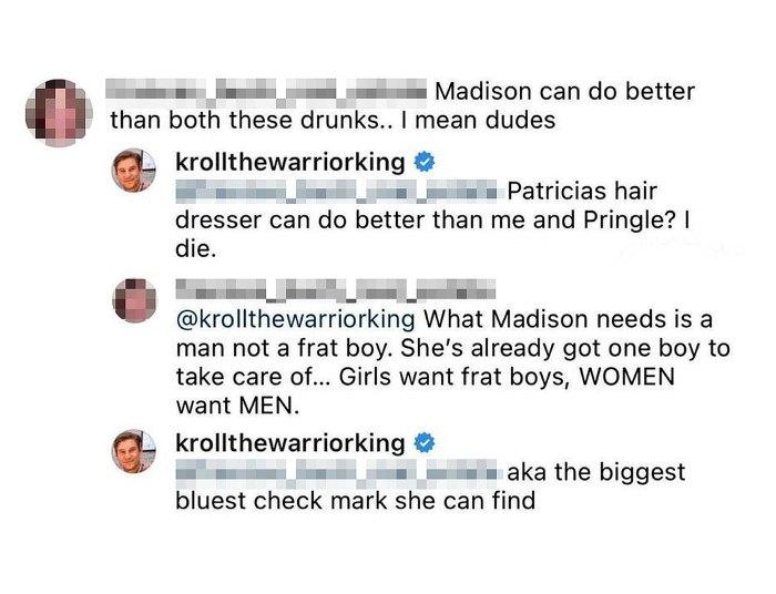 Southern Charm Austen Kroll Slams Ex Madison LeCroy Estilo de citas
