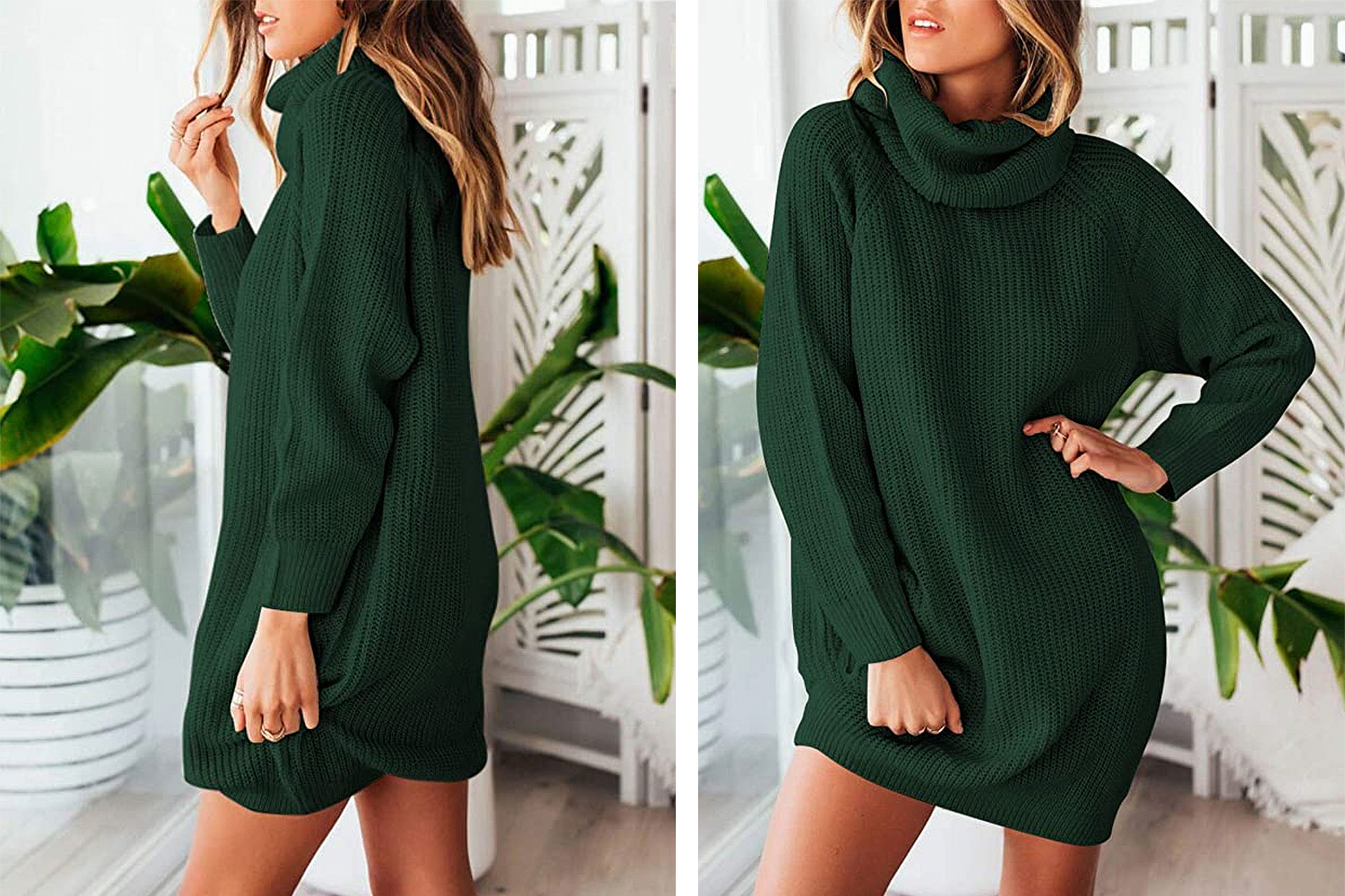 Sovoyontee Sweater Dress Is the Absolute Coziest Winter Ensemble
