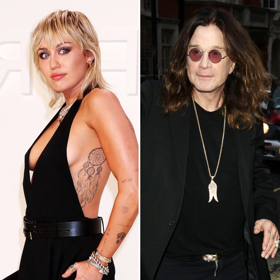 Stars Who Hate Christmas Miley Cyrus Ozzy Osbourne