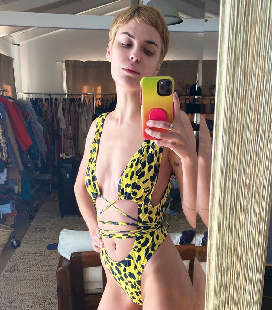 Tallulah Willis Rocks the Coolest (and Skimpiest!) Animal Print One-Piece
