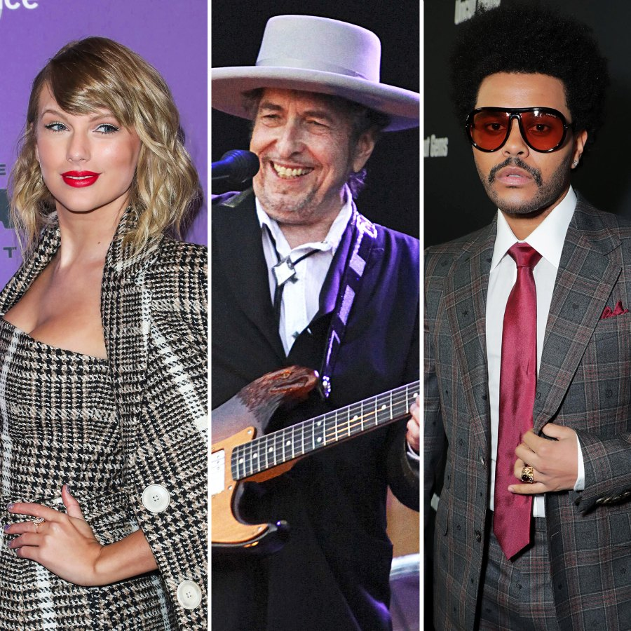 Taylor Swift Bob Dylan and The Weeknd Best Albums of 2020