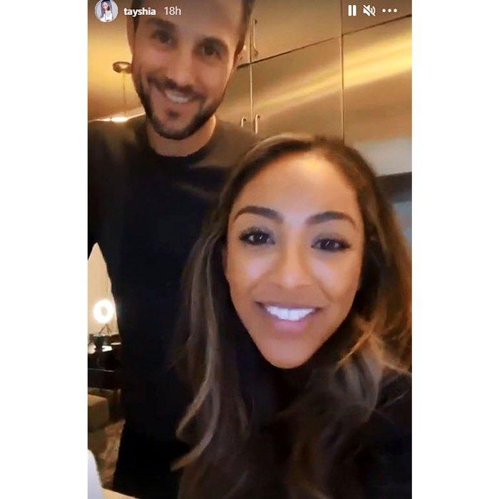 Tayshia Adams Needs Spruce Up Zacs Bachelor Pad After NYC Move