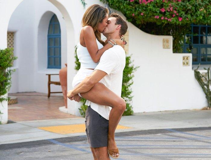 Tayshia Adams and Ben Kissing Bachelorette Recap
