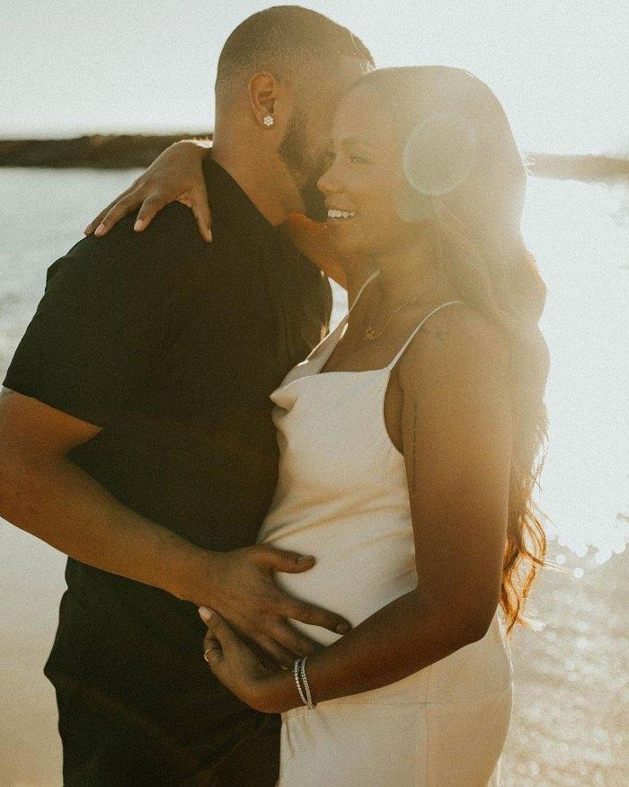 La mamá adolescente OG Cheyenne Floyd da a luz a su segundo hijo, su primer hijo con su novio Zach Davis
