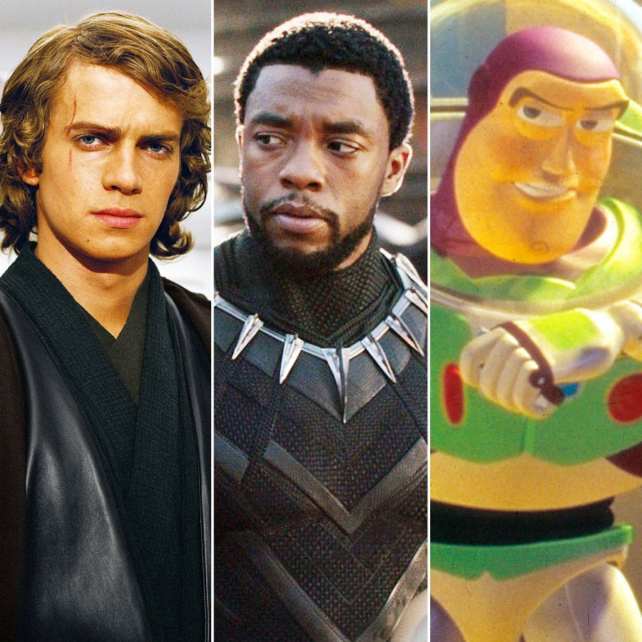 Hayden Christensen Chadwick Boseman and Buzz Lightyear The Biggest Projects Revealed During Disneys End-of-Year Event