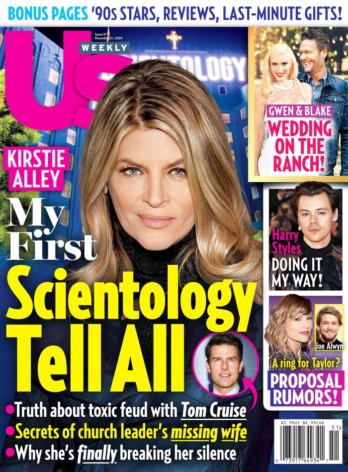 Us Weekly Issue 5120 Cover Scientology Inside Kirstie Alley y Leah Remini disputan por Scientology