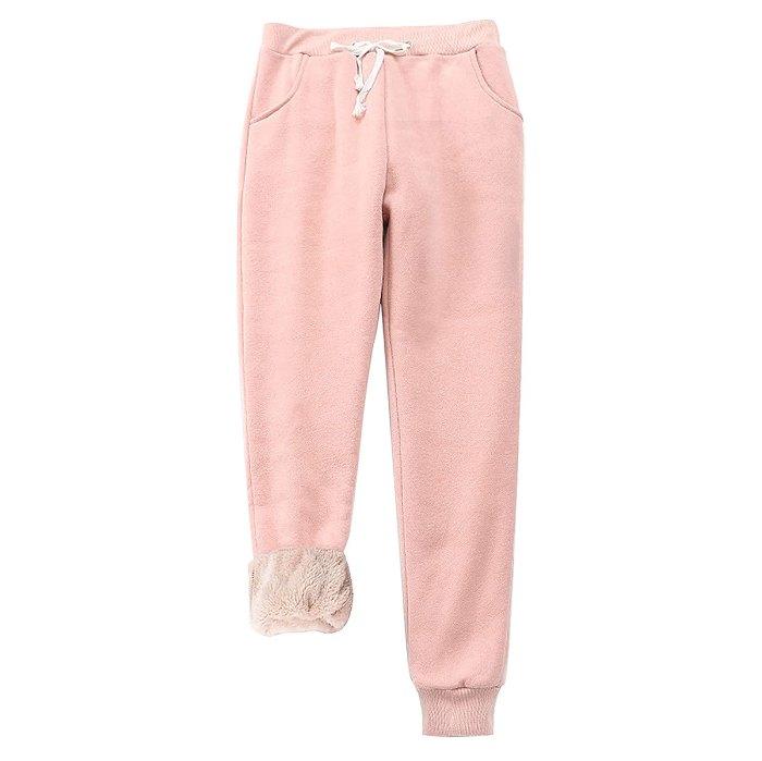 pantalones-joggers-con-forro-de-sherpa-amazon-rosa