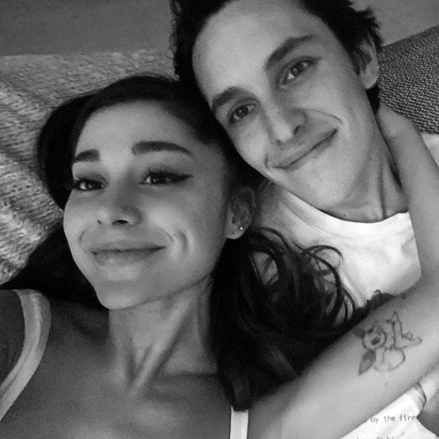 Ariana Grande and Dalton Gomez Celebrity Engagements of 2020