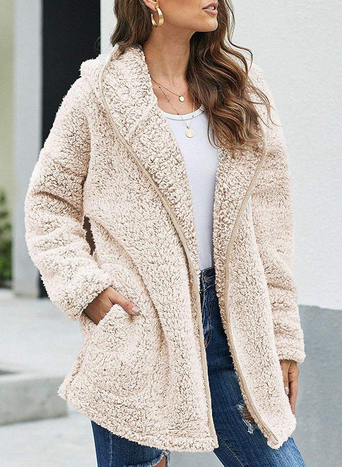 Abrigo Dokotoo Fuzzy Fleece