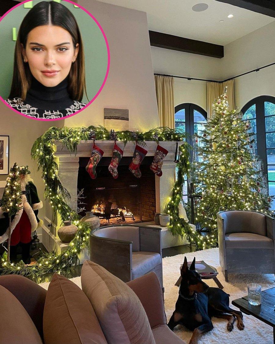 Kendall Jenner Kardashian-Jenner Family Holiday Decorations of 2020